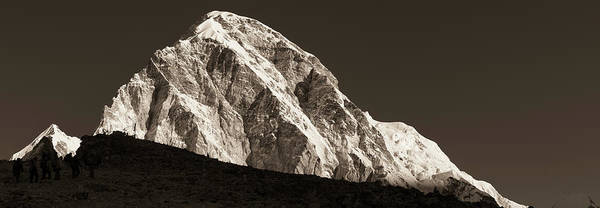 Photograph - Morning Climb To Kala Patthar by Owen Weber