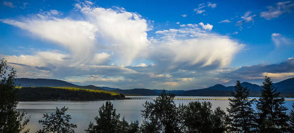 Photograph - Morning Clouds Over Pend Oreille by Albert Seger