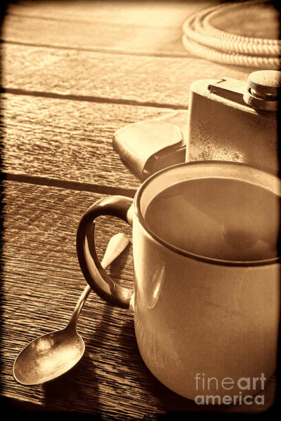 Photograph - Morning Coffee At The Ranch  by American West Legend By Olivier Le Queinec