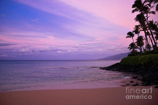 Napili Bay Photograph - Morning Colors by Kelly Wade