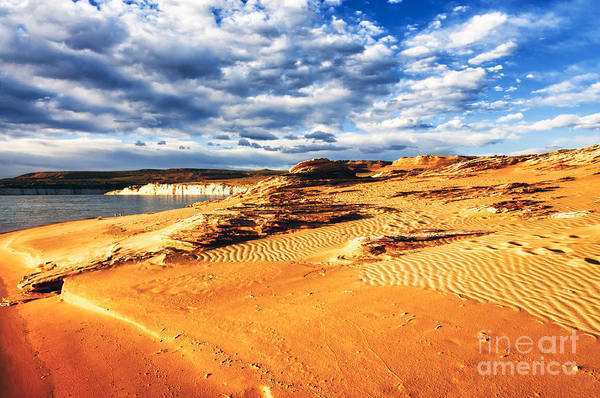 Photograph - Morning Couds Lake Powell by Thomas R Fletcher