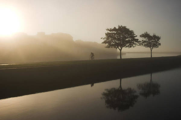 Photograph - Morning Cycle Galway Ireland by Pierre Leclerc Photography