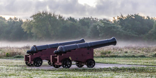 Photograph - Morning Fog At Fort Moultrie - Sullivan's Island Sc by Donnie Whitaker