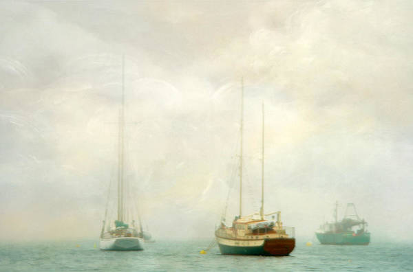 Fisher Island Photograph - Morning Fog by Darren Fisher