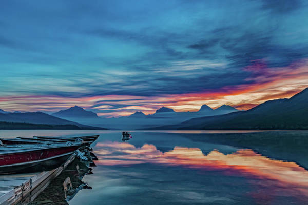 Photograph - Morning Glory At Glacier National Park by Lon Dittrick