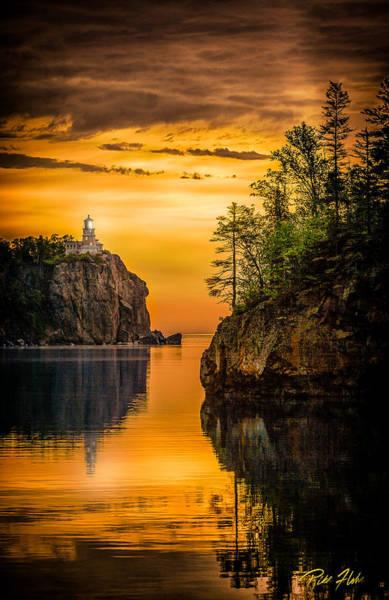 Photograph - Morning Glow Against The Light by Rikk Flohr
