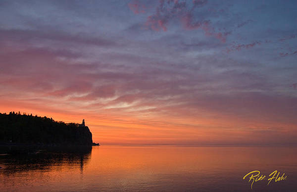 Photograph - Morning Glow At Split Rock by Rikk Flohr