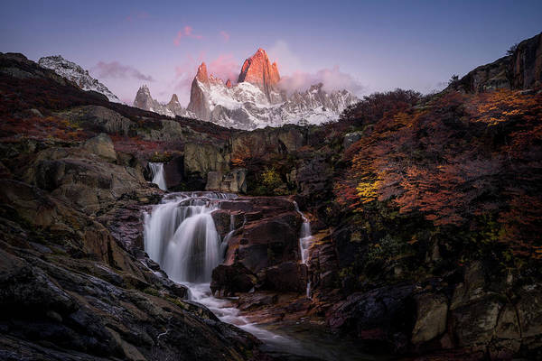 Patagonia Photograph - Morning Glow by Daniel Cooley