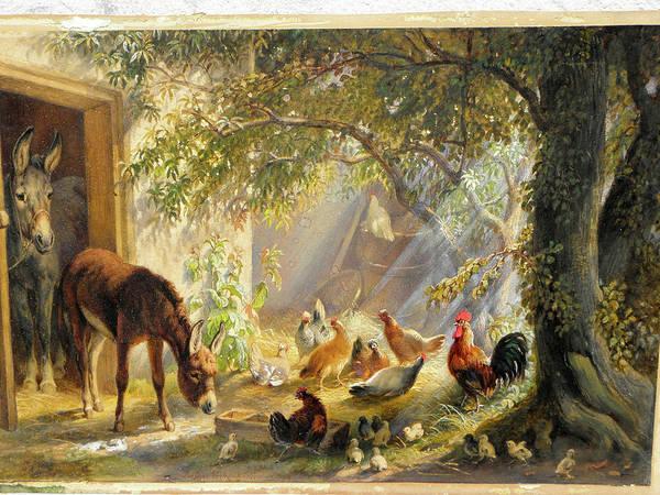Eugene Joseph Verboeckhoven Painting - Morning Has Broken C2018 by John Weaver