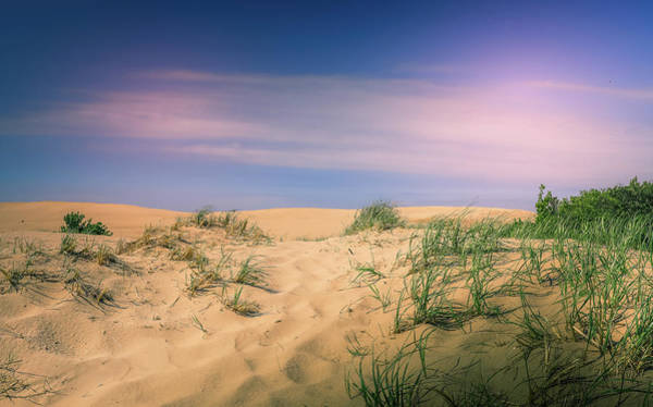 Photograph - Morning Haze On Sand Dunes by Dan Sproul