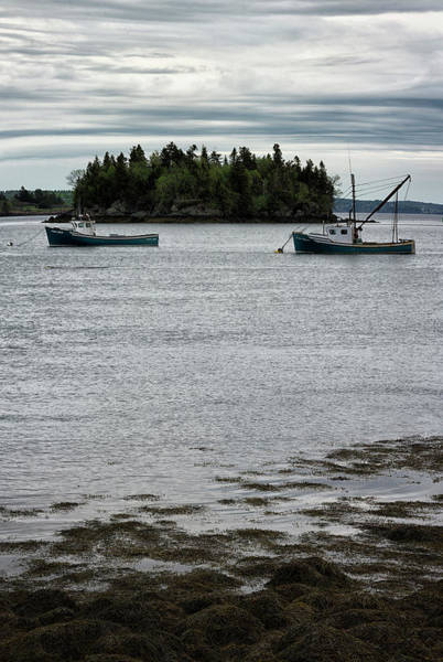 Small Town Photograph - Morning In Lubec by Robert Fawcett