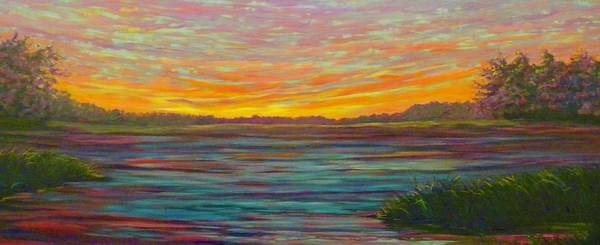 Painting - Southern Sunrise by Jeanette Jarmon