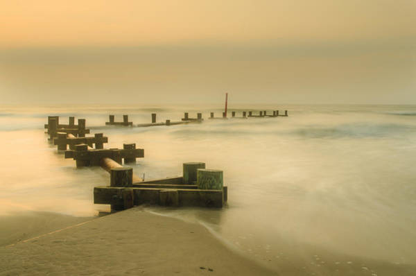 Jetti Wall Art - Photograph - Morning In Stone Harbor by Bill Cannon