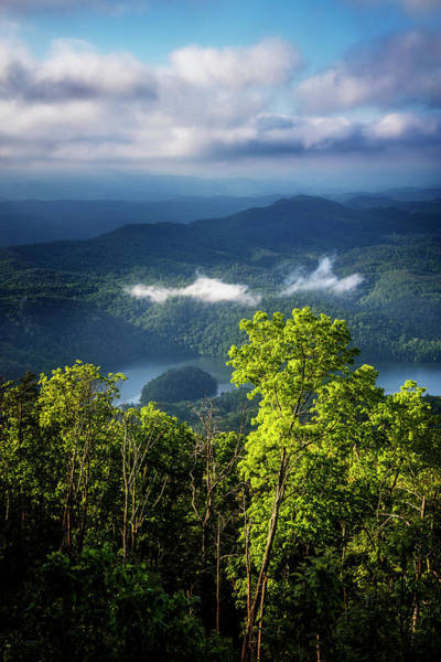Photograph - Morning In The Blue Ridge Mountains by Debra and Dave Vanderlaan