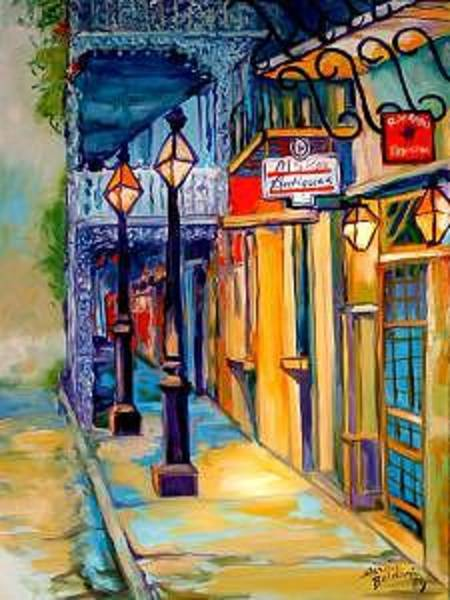 Painting - Morning In The French Quarter by Marcia Baldwin