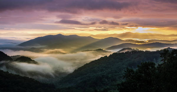 Photograph - Morning In The Smoky Mountains by Andy Crawford