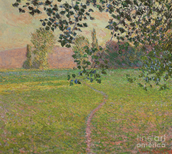 Wall Art - Painting - Morning Landscape, 1888 by Claude Monet