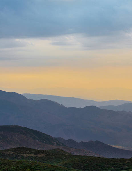 Laguna Mountains Photograph - Morning Layers by Joseph Smith