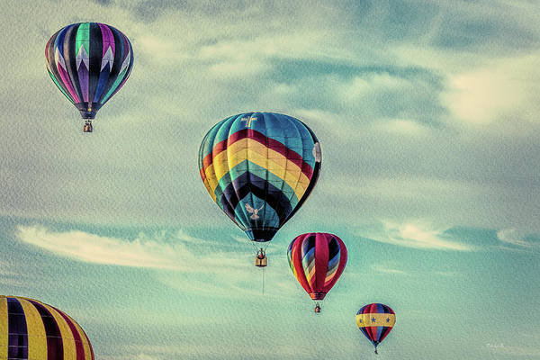 Photograph - Morning Lift Off  Two by Bob Orsillo