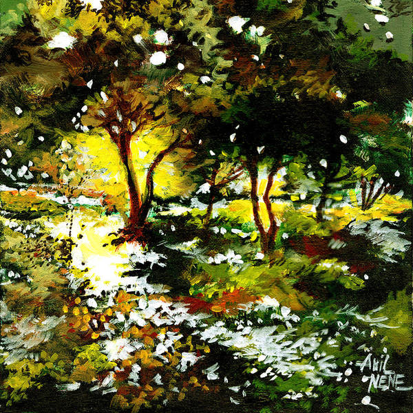 Painting - Morning Light by Anil Nene