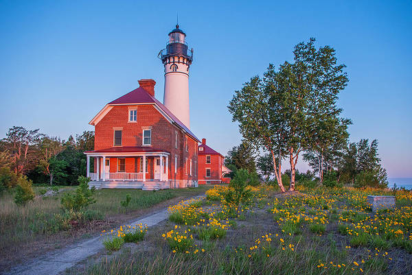 Photograph - Morning Light At Au Sable Point by Gary McCormick