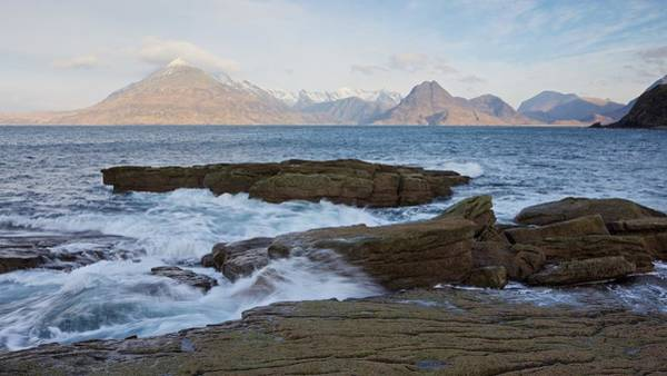 Photograph - Morning Light At Elgol Beach by Stephen Taylor