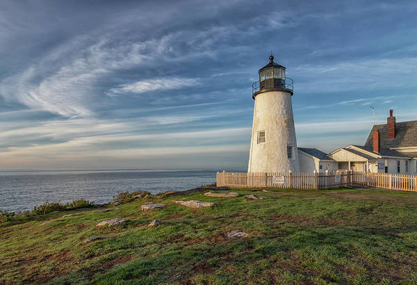 Photograph - Morning Light At Pemaquid Point by Kristen Wilkinson