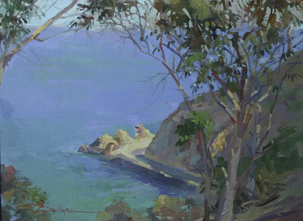 Painting - Morning Light Catalina by Betty Jean Billups