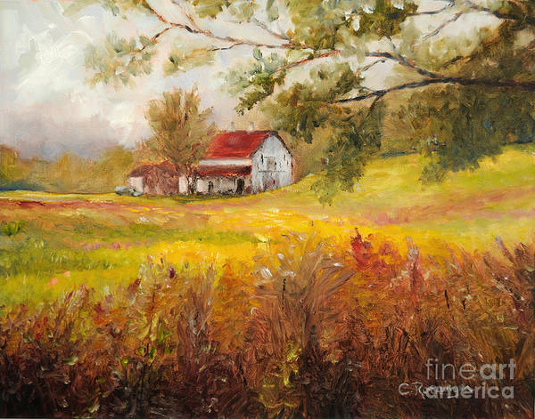 11x14 Painting - Morning Light by Cindy Roesinger