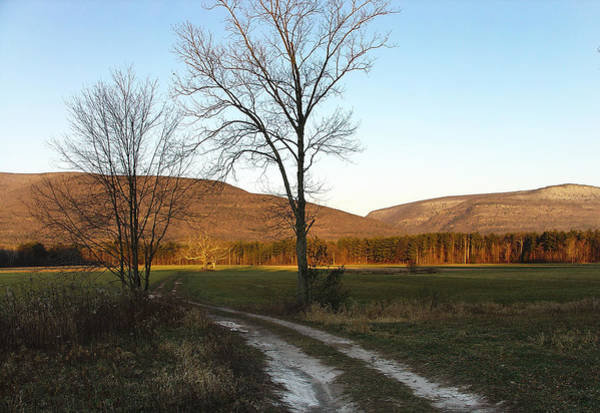 Kaaterskill Clove Photograph - Morning Light Creeping Toward Story's Field At Palenville by Terrance DePietro