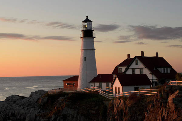 New England Photograph - Morning Light by Dan Jordan