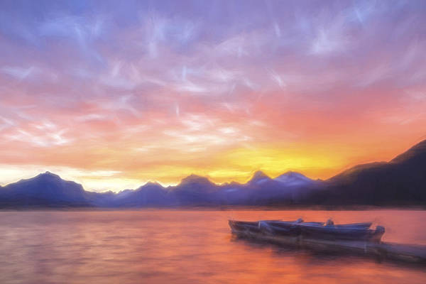 Digital Art - Morning Light IIi by Jon Glaser
