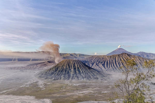 Rauch Wall Art - Photograph - morning light Mount Bromo - Java by Joana Kruse