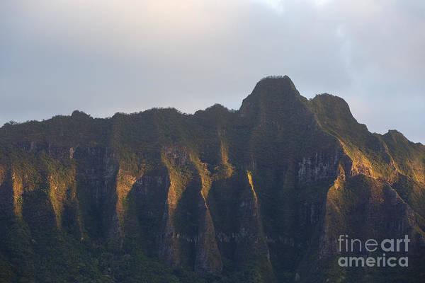 Photograph - Morning Light On Kualoa Ridge by Charmian Vistaunet