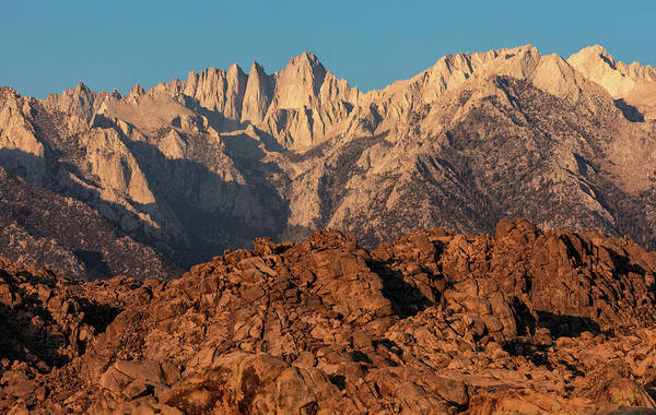 Photograph - Morning Light On Mt. Whitney by Stuart Gordon