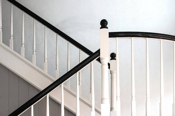Photograph - Morning Light On The Stairway by Gary Slawsky