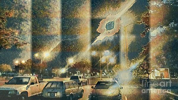 Streetart Mixed Media - Morning Lights 3 by Steven Wills