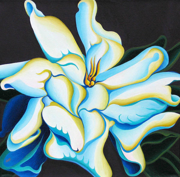 Painting - Morning Magnolia by Amy Ferrari