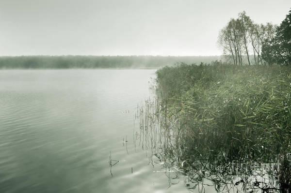 Wall Art - Photograph - Morning Mist At The Lake by Arletta Cwalina