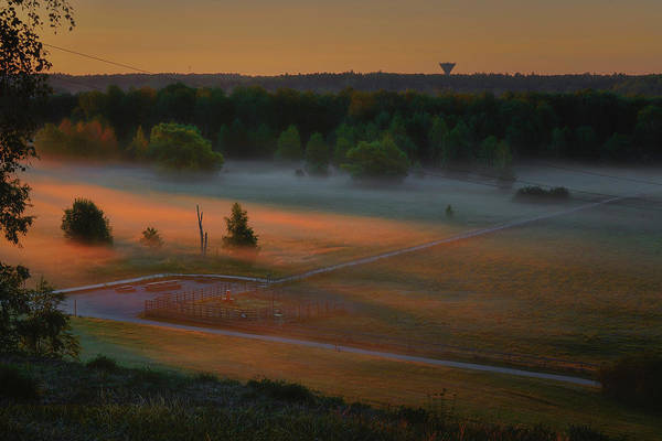 Photograph - Morning Mist Over Dyarna #h7 by Leif Sohlman