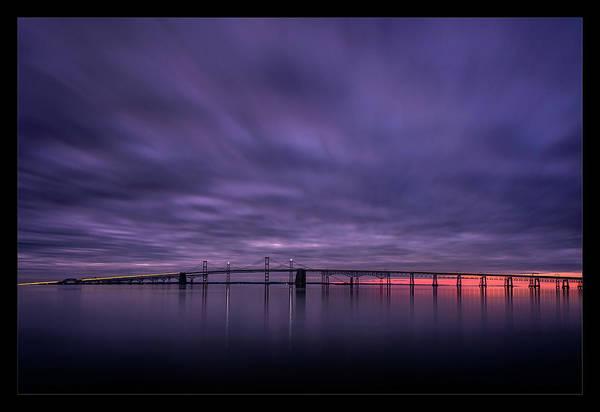 Chesapeake Bay Photograph - Morning Mood by Robert Fawcett