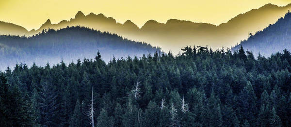 Photograph - Morning Mountains by Barry Weiss