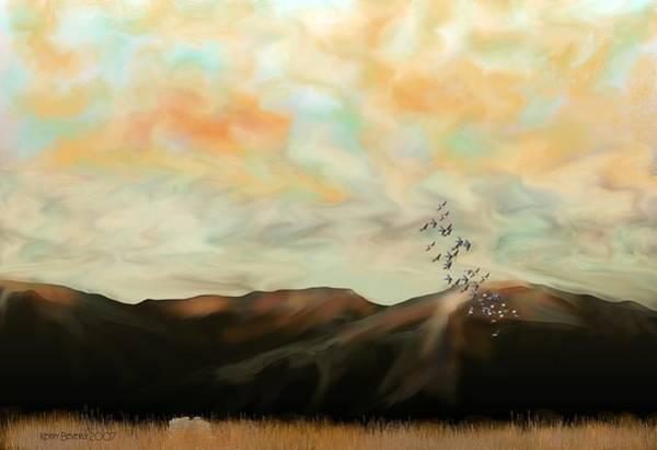 Digital Art - Morning New Mexico II by Brandy Beverly