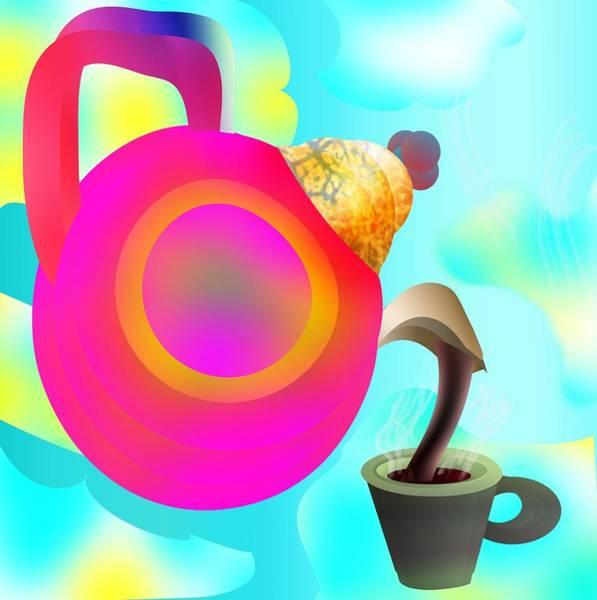 Digital Art - Morning Norm by Bukunolami Olamilokun