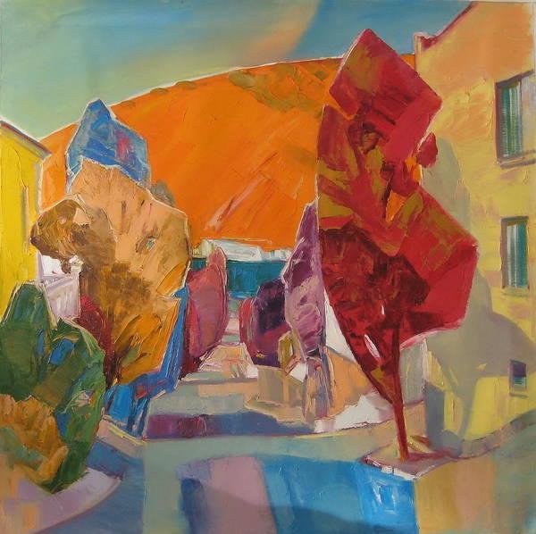 Ignatenko Painting - Morning Of The Streets by Sergey Ignatenko