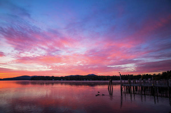 Photograph - Morning On Lake Winnipesaukee by Robert Clifford