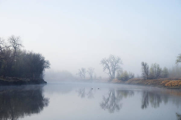 Wall Art - Photograph - Morning On Red River by Donald  Erickson