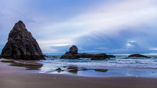 Photograph - Morning On The Beach by Jedediah Hohf