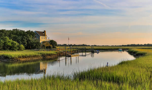 Photograph - Morning On The Creek - Wild Dunes by Donnie Whitaker