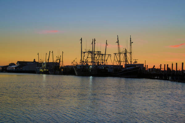 Wall Art - Photograph - Morning On The Docks - Two Mile Landing by Bill Cannon